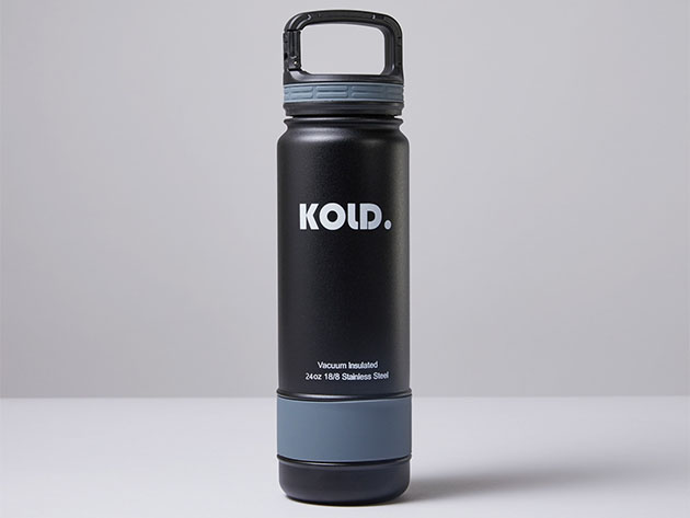 KOLD™ Vacuum Insulated Bottle for $17