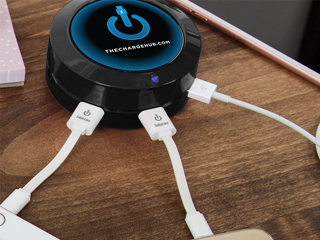 ChargeHub X5: 5-Port USB Charger for $39