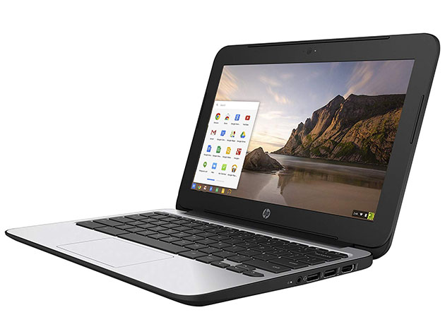 HP G4 11.6″ Chromebook Intel Celeron N2840 16GB SSD – Black (Refurbished) for $119