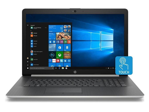 HP Pavilion x360 15.6″ Touchscreen Laptop AMD Ryzen™ 1TB – Silver (Certified Refurbished) for $449