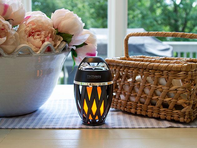 TikiTunes Bluetooth Wireless Speaker & Ambient Light for $39