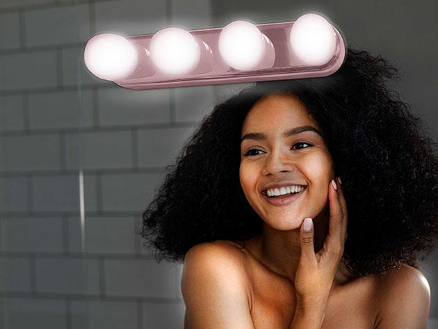 Urban Butterfly Portable LED Vanity Lighting Bar for $10