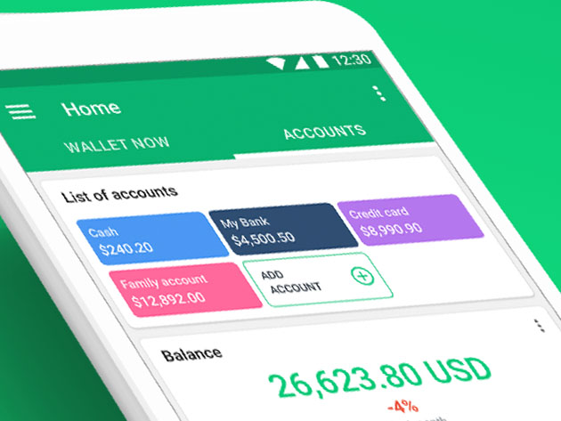 Wallet Personal Budgeting App: Lifetime Subscription for $34