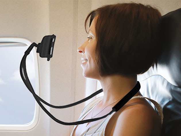 Aduro Lounger: Universal Adjustable Neck Mount Phone Holder for $8