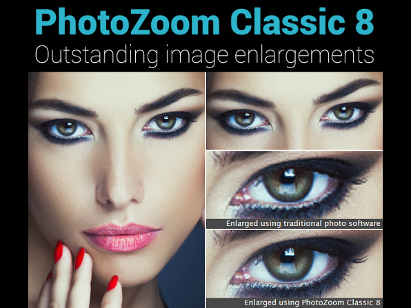 PhotoZoom Classic 8 for Mac & Windows for $24