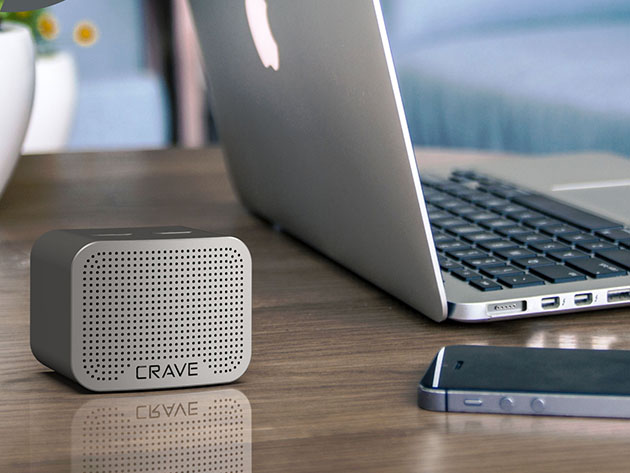 Crave Curve Mini 5W Bluetooth Speaker for $34