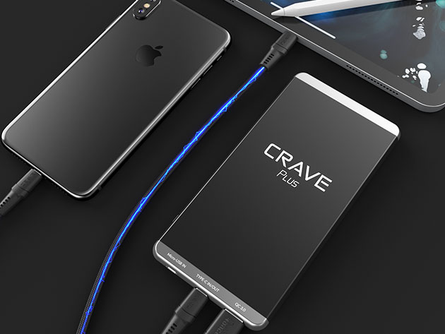 Crave PLUS 10,000mAh Power Bank for $47