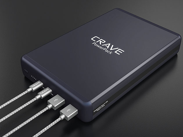 Crave PowerPack 2: 50,000mAh Battery Charger for $189