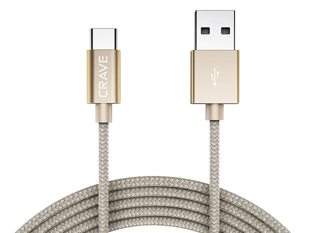 Crave USB-A to USB-C Cable for $11
