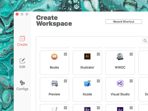 WorkspacePro: Multiple App Launcher for Mac for $7