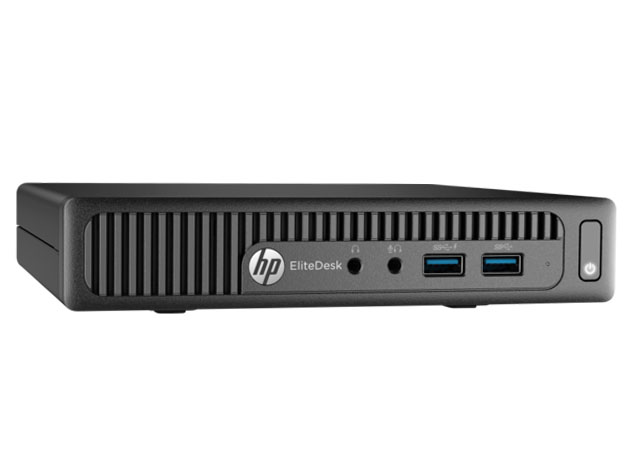 HP EliteDesk 705-G1 Mini PC AMD A8-7600B 256GB SSD Win7 (Refurbished) for $229
