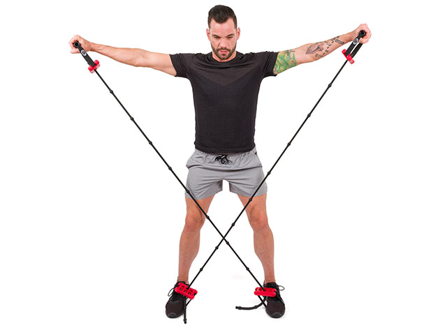 Pro-Workout Handle & Band Combo for $42