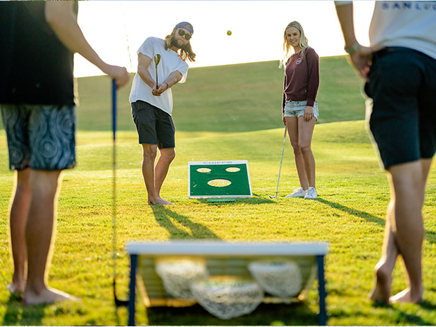 Chippo™ Golf Game: The Glorious Lovechild of Golf & Cornhole for $158
