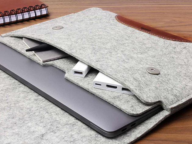 Hampshire MacBook Pro/Air 13″ Sleeve for $71