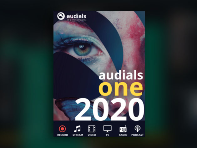 Audials One 2020: Music, Radio, Movie & TV Recording Software for Windows for $19