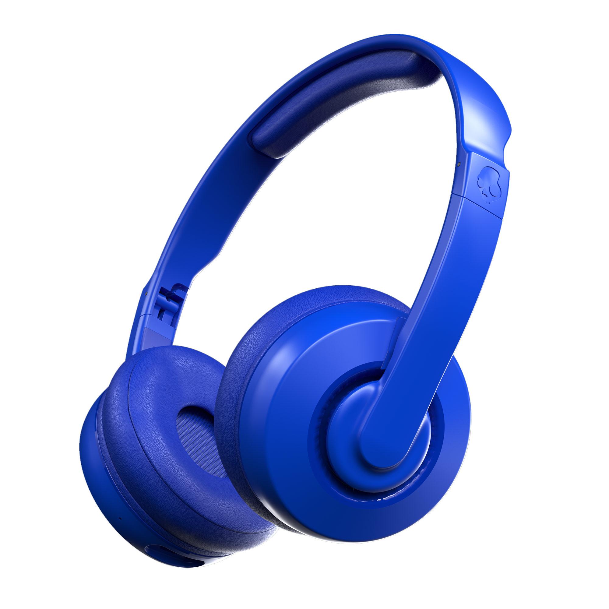 Skullcandy Cassette Wireless On-Ear Headphone – Cobalt Blue for $29