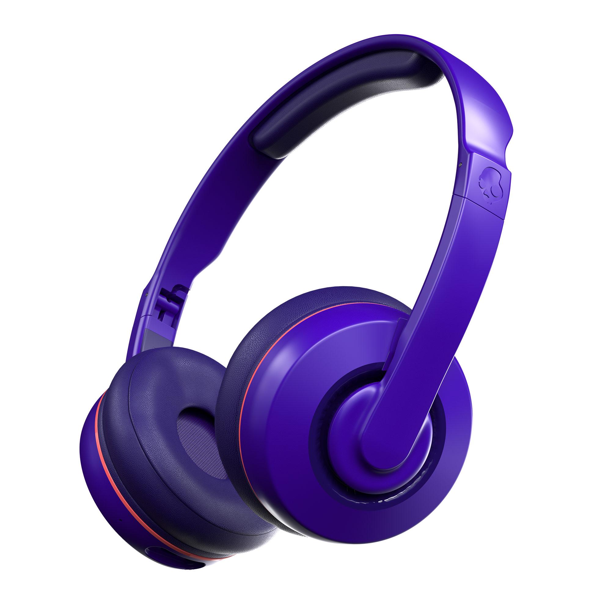 Skullcandy Cassette Wireless On-Ear Headphone – Retro Purple for $29
