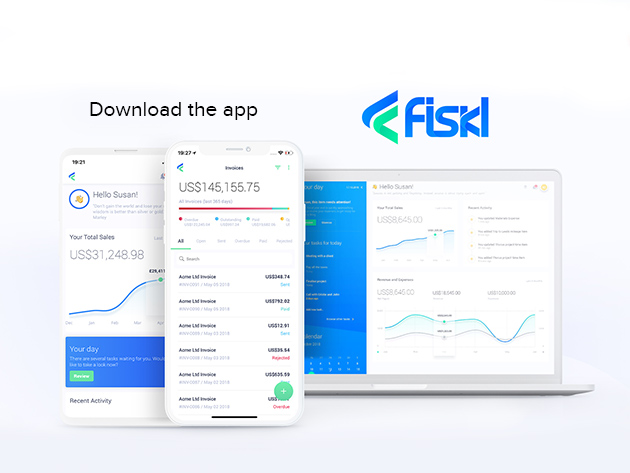 Fiskl: Financial Management App Subscriptions for $29