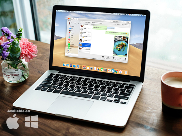 iMazing iOS Device Manager: Universal License for Mac and PC for $14