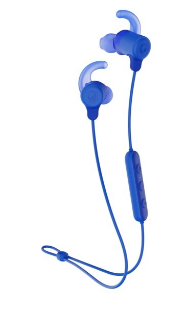 Skullcandy Jib+ Active Wireless BT Earbuds with Microphone – Cobalt Blue for $28