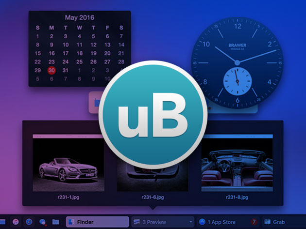uBar 4 Toolbar for Mac for $15