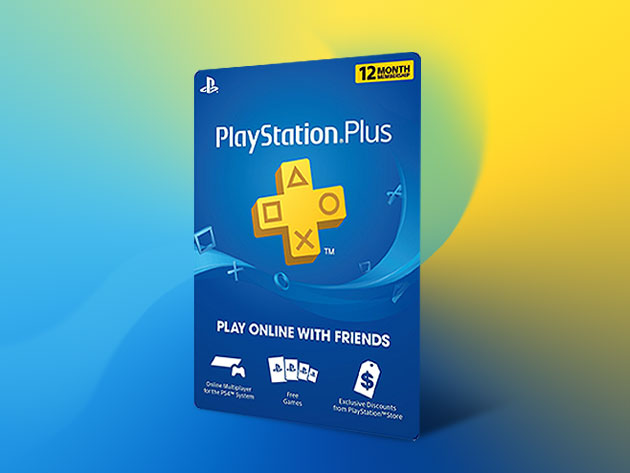 PlayStation Plus: 12-Month Subscription  for $59