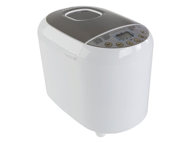 Curtis Stone 2Lb 19-in-1 Bread Maker -White (Factory Remanufactured) for $79