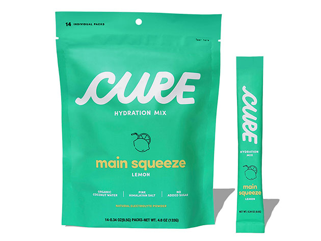 Cure Hydration Mix: 14-Pack for $15