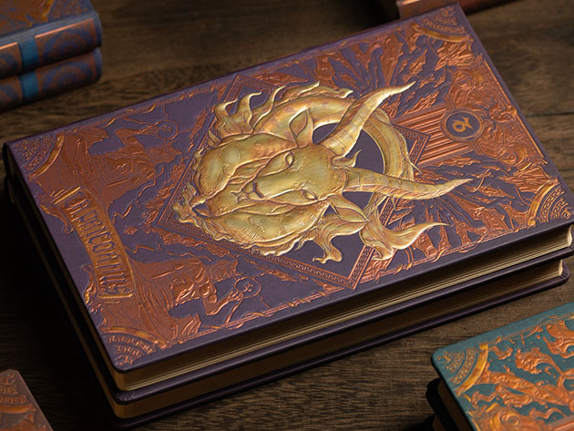 Augmented Reality Zodiac Notebook (Capricorn) for $24