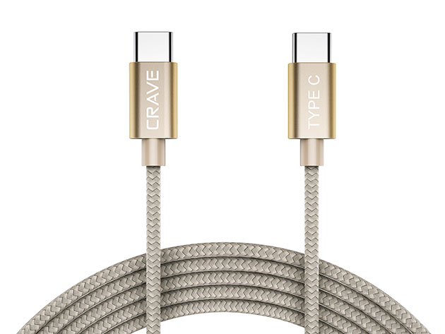 Crave USB-C to USB-C Cable for $9