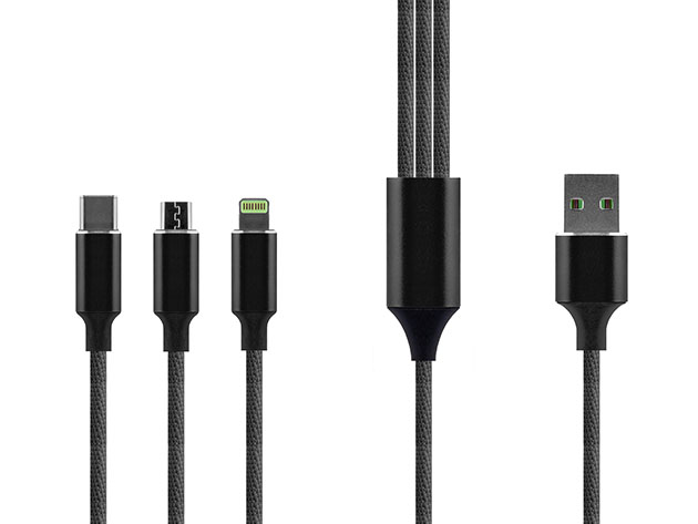 3-in-1 Multi-Charging Cable  for $14