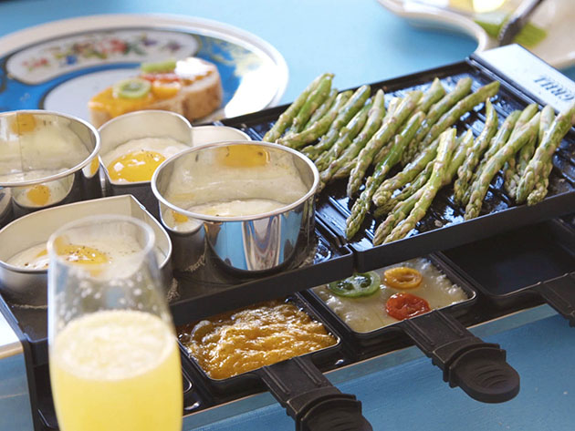 Party Grill®: Raclette Tabletop Grill for $69