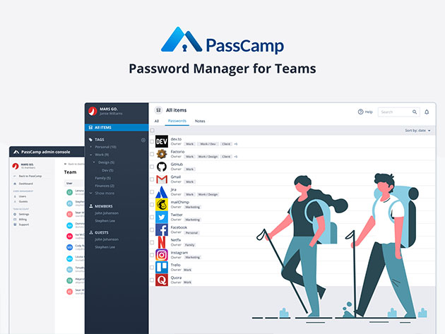 PassCamp Password Manager: Lifetime Subscription for $49