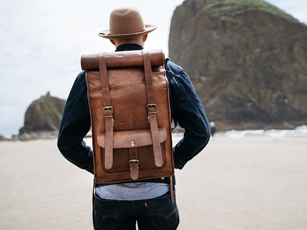 Johhny Fly™ Rolltop Backpack for $224