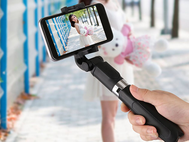 Sinji Selfie Stick Tripod for $19