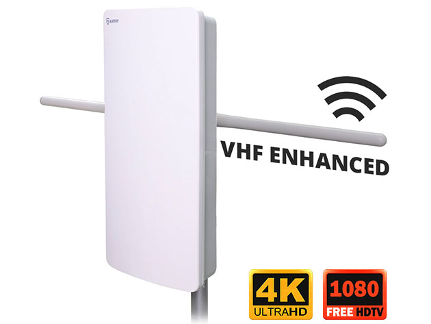 AT-400V 70-Mile Range Outdoor/Indoor HDTV Antenna for $109