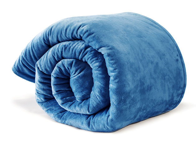 Moonbow All-Season Weighted Blanket with Cover for $179