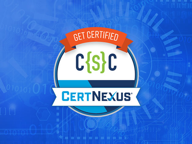 The CertNexus Cyber Secure Coder (CSC-110) Certification Prep Course for $19