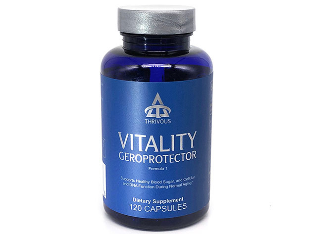 Vitality Geroprotector Dietary Supplement for $28