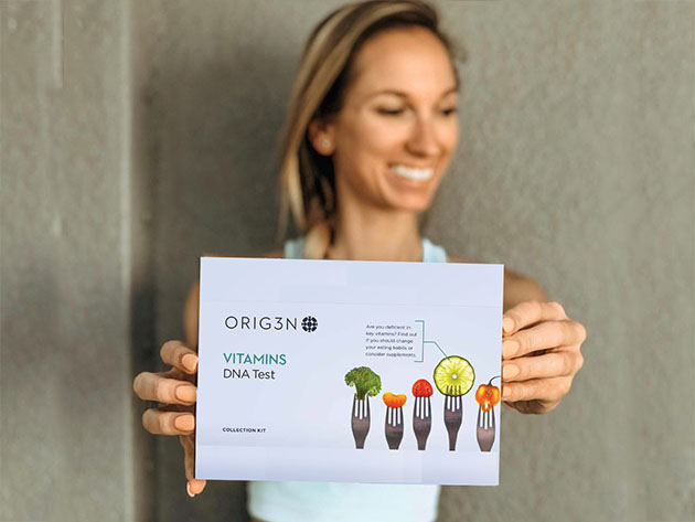 Vitamins DNA Test for $38