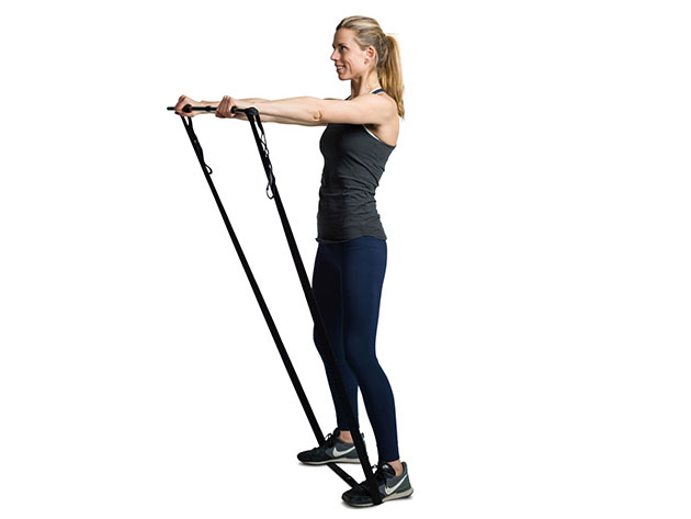 Posture™ 4-Piece Mini Exercise Gym & Strength Training Kit for $44