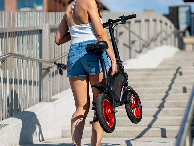 Bolt Compact Electric Bike for $399