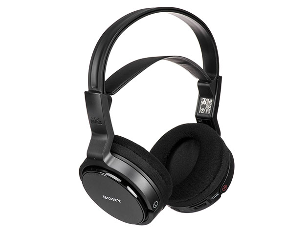 Sony Over-Ear Wireless RF Stereo TV Headphones (Renewed) for $29