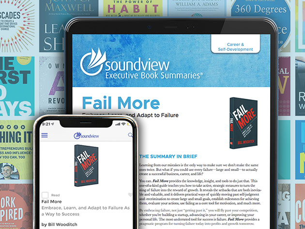 Soundview Executive Book Summaries®: 1-Yr Subscription for $49