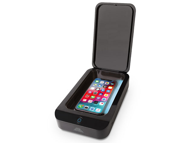 UV Shield: Portable Smartphone Sanitizer for $49
