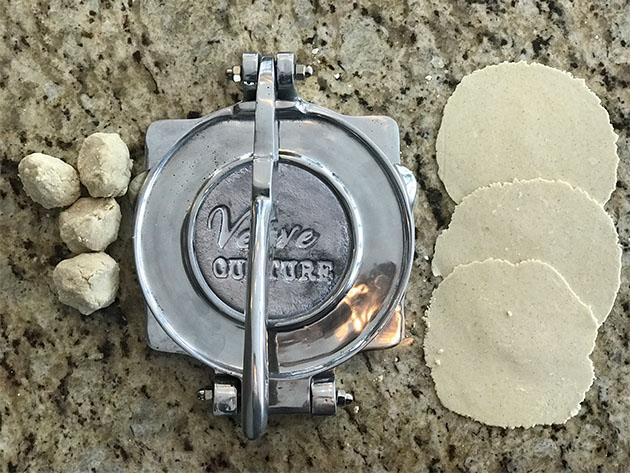 XL Aluminum Tortilla Press for $54