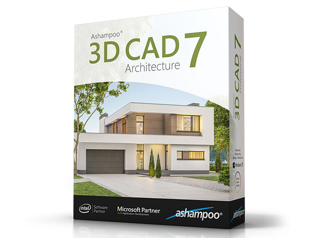 Ashampoo® 3D CAD 7: Architecture Version for $29