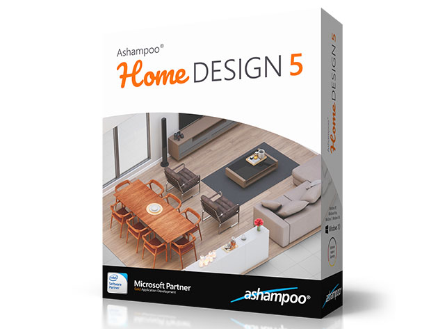 Ashampoo® Home Design 5 (Windows Only Software) for $19