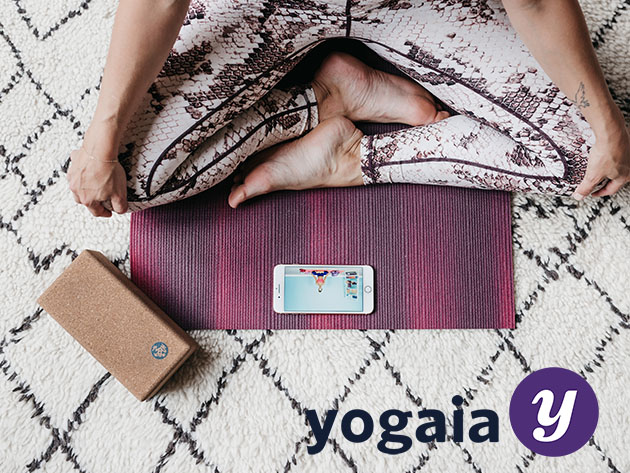 Yogaia Interactive Yoga Classes: Lifetime Subscription for $299