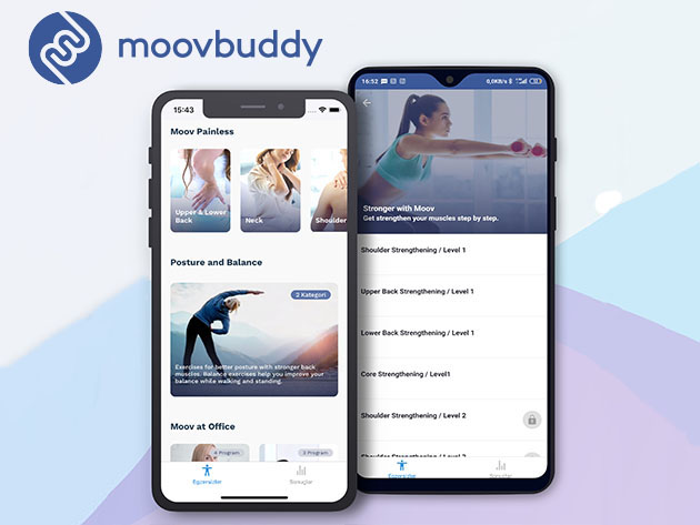 MoovBuddy Exercise App: Lifetime Subscription for $49